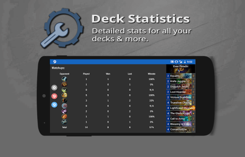Hearthstone Deck Tracker On Android Build and analyze your mtg deck. hearthstone deck tracker on android