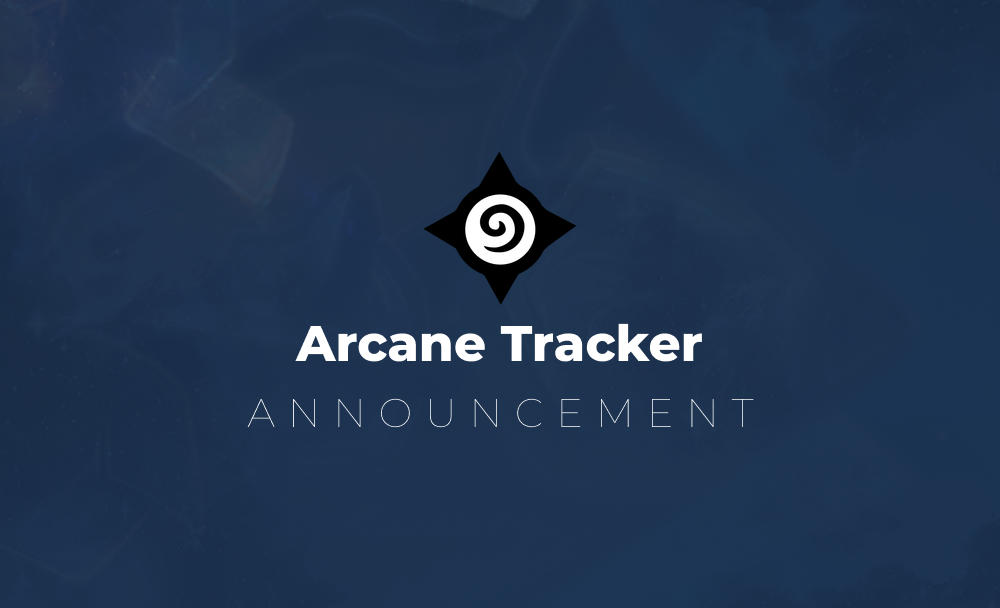 Arcane Tracker to be phased out August 31st